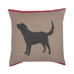 David Fussenegger Smoke Labrador Nova Cushion
