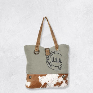 Myra Bags USA Stamp Tote Bag S1294