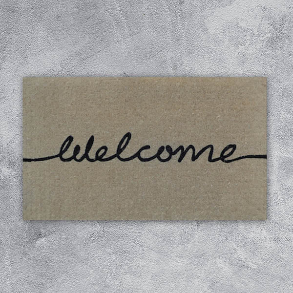 Door Mat - Welcome - 45cm x 75cm x 4cm
