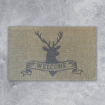 Door Mat - Welcome Deer - 45cm x 75cm x 4cm