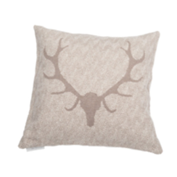 David Fussenegger Smoke Antlers Nova Cushion
