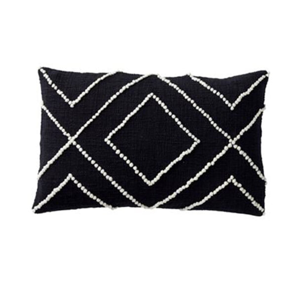 Paloma Living Modern Leather Cushion 30cm x 50cm