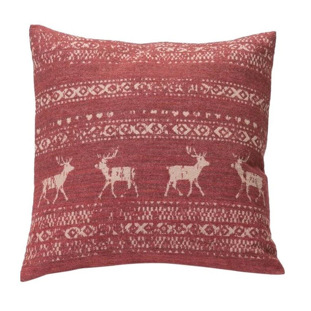 David Fussenegger Bordeaux Alpine Border Cushion