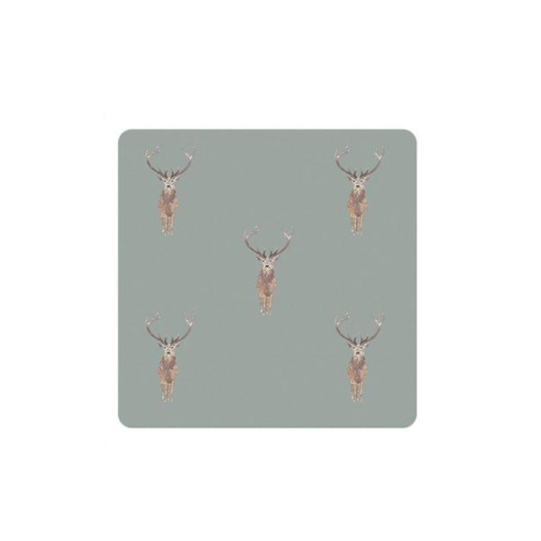Sophie Allport Highland Stag Coasters