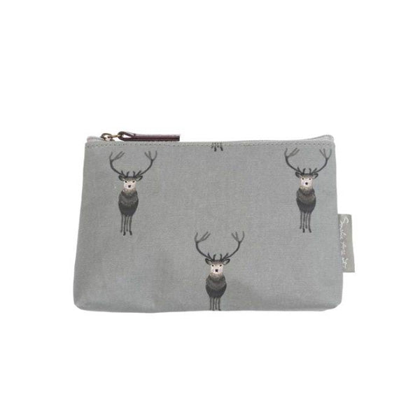 Sophie Allport Highland Stag Oilcloth Toiletry Bag