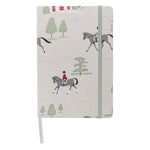 Sophie Allport Horses A5 Fabric Notebook