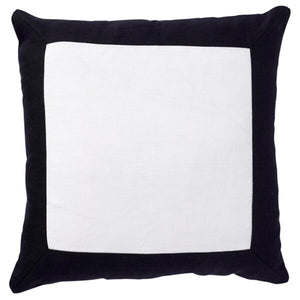 Paloma Living Linen Border Black Cushion