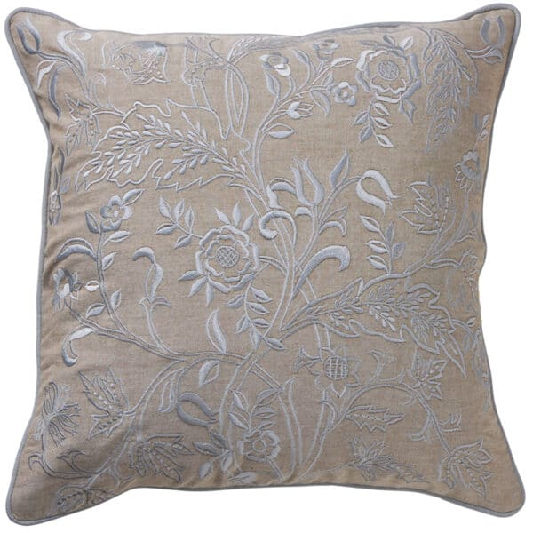 Paloma Living Pastel Blue Floral Cushion