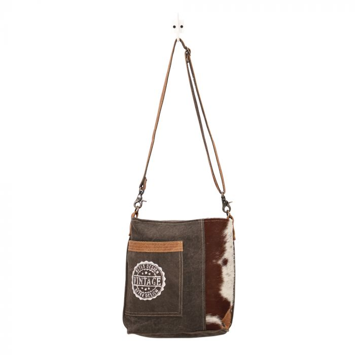 Myra Vintage Stamp Shoulder Bag
