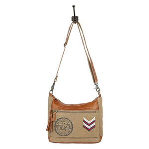 Myra Bags Arrow Classic Cross Body Bag S-1541