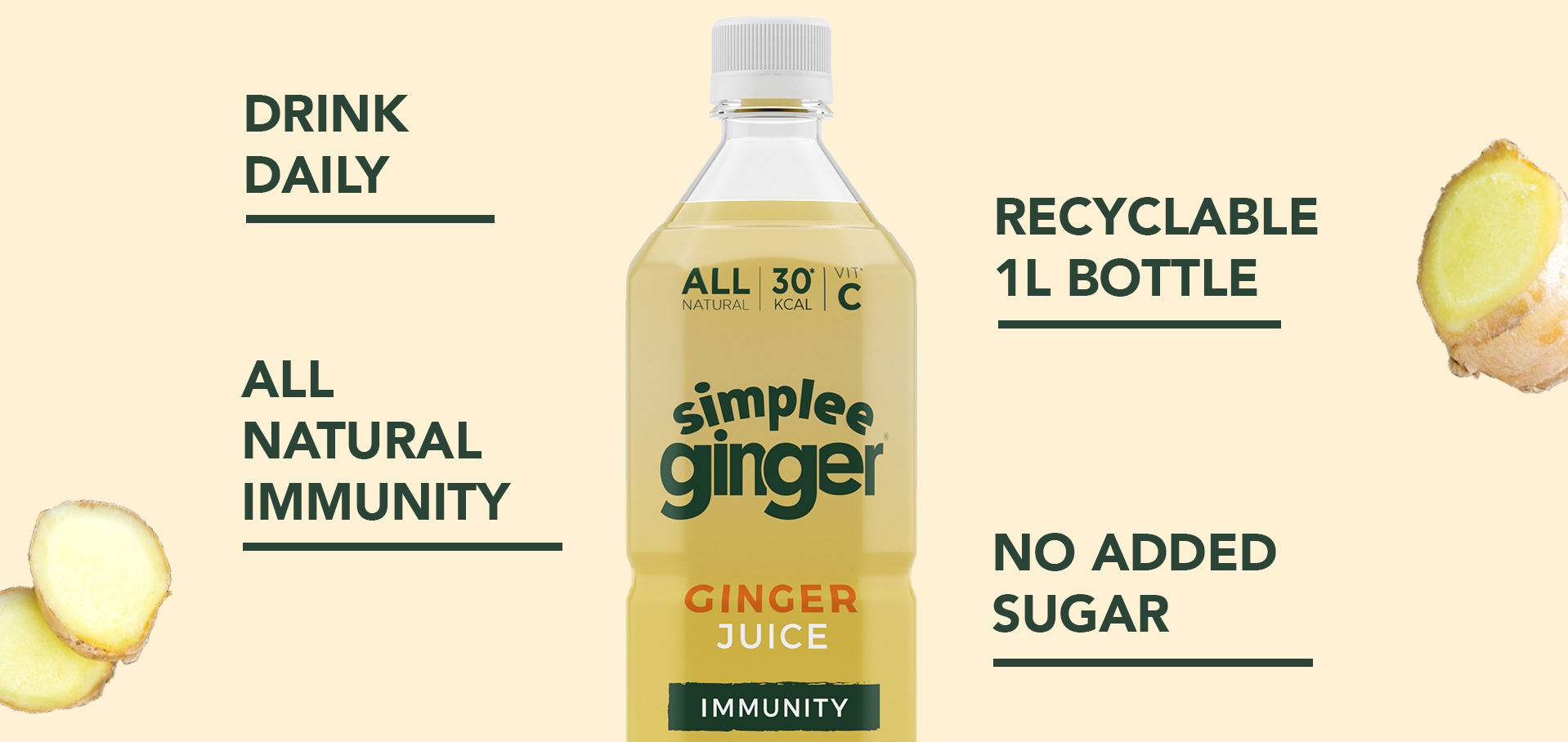 Simplee Ginger juice drink