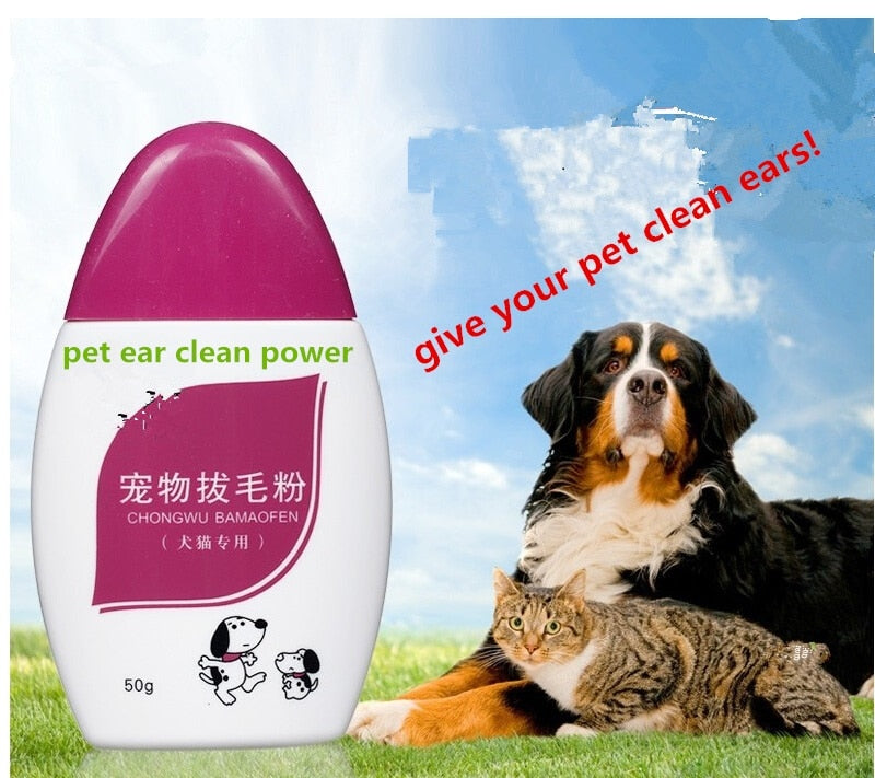 Lowest price! pet dog puppy cat ear care ear powder ear health care
