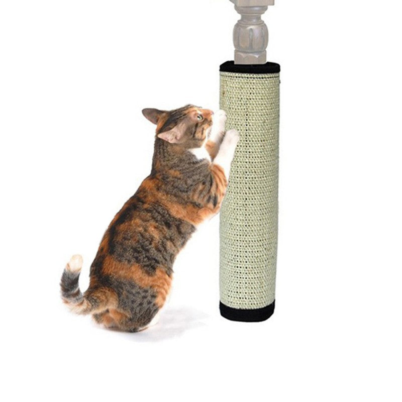 Cat Scratch Pad Board Protecting Furniture Foot Natural Sisal Cat Scratching Post Toy For Cats Catnip Tower Climbing Tree New