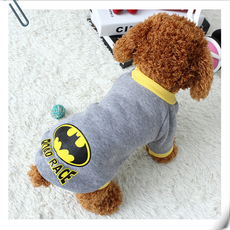 Warm Pet Dog Clothes Puppy Coat Clothing for Small Dogs Sweatshirt Vest Superhero Costume Winter Dog Clothes Apparel 15Q