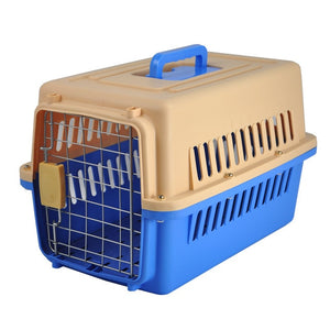 Petminru Pet Air Box Plane Transport Box Portable Cat Dog Carrier Outgoing Travel Teddy Packets Breathable Small Pet Handbag
