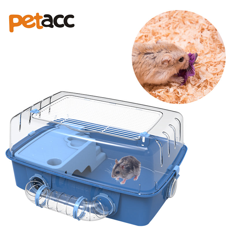 Petacc High quality Deluxe Hamster Cage Double-deck Hamster Habitat Small Animal House