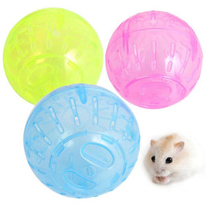 Transer Pet Supply Plastic Round Ball Small Animals Hamster Mice Toys For Exercising Jogging  71229