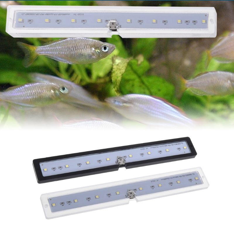 High Quality Fish Tank Lamp LED Natural Lights Thin USB Charging Aquarium Supply Reptile Case
