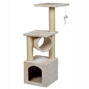 36inch Pet Cat Climbing Frame Tree Condo Furniture Scratching Post Kitten Pet Play Toy House Multi-layer Cat Tree