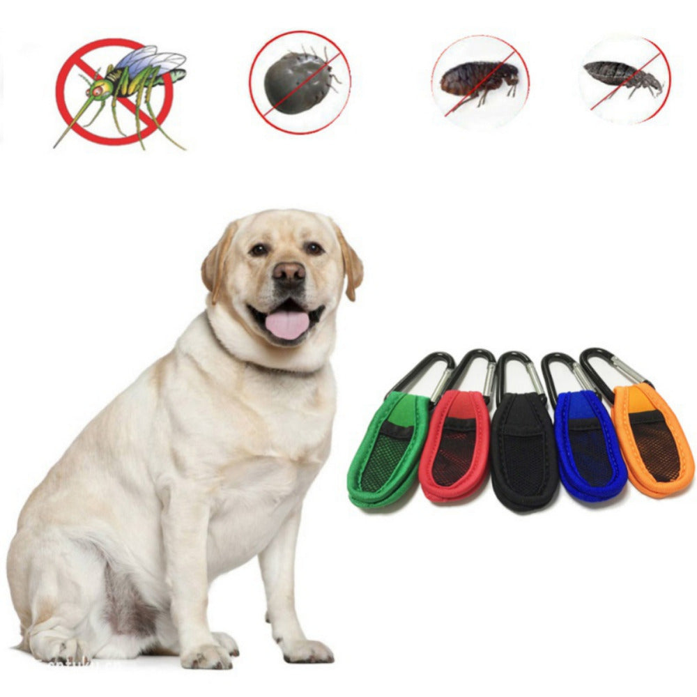 Pet Dog Supplies Plant Essential Oil Mosquito Pest Repellent Ring Non-Toxic For Dog  Health care 2018 New