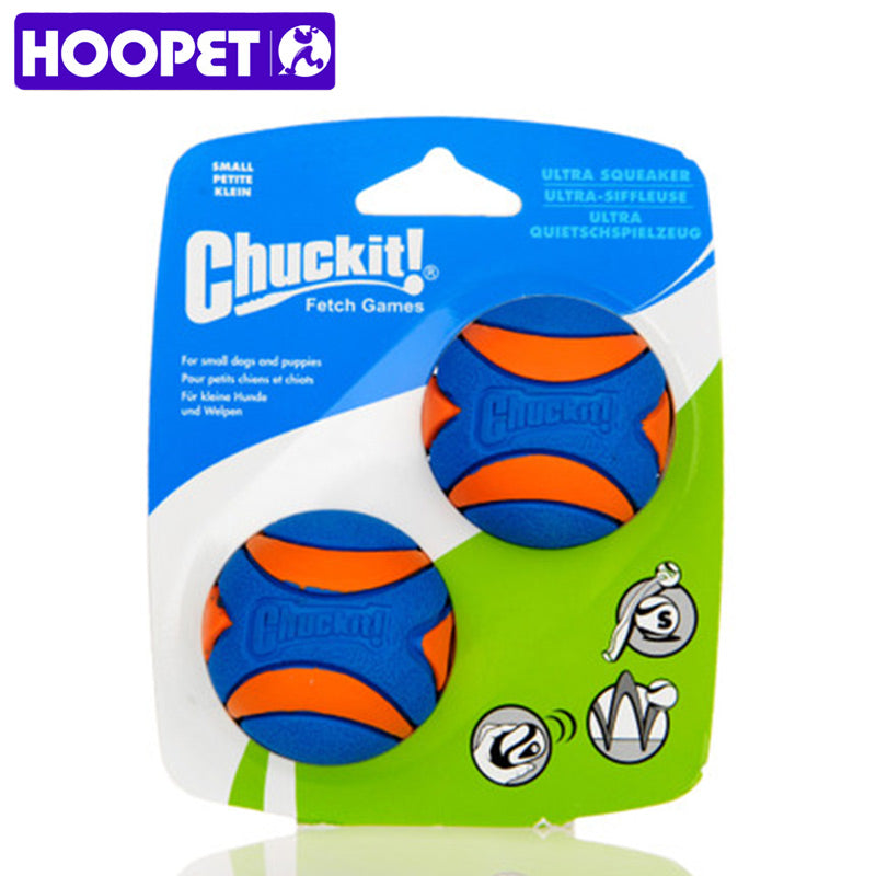 HOOPET Pet Dog Toys Puppy Squeaky Chew Toys Sound Pure Natural Non-toxic Rubber