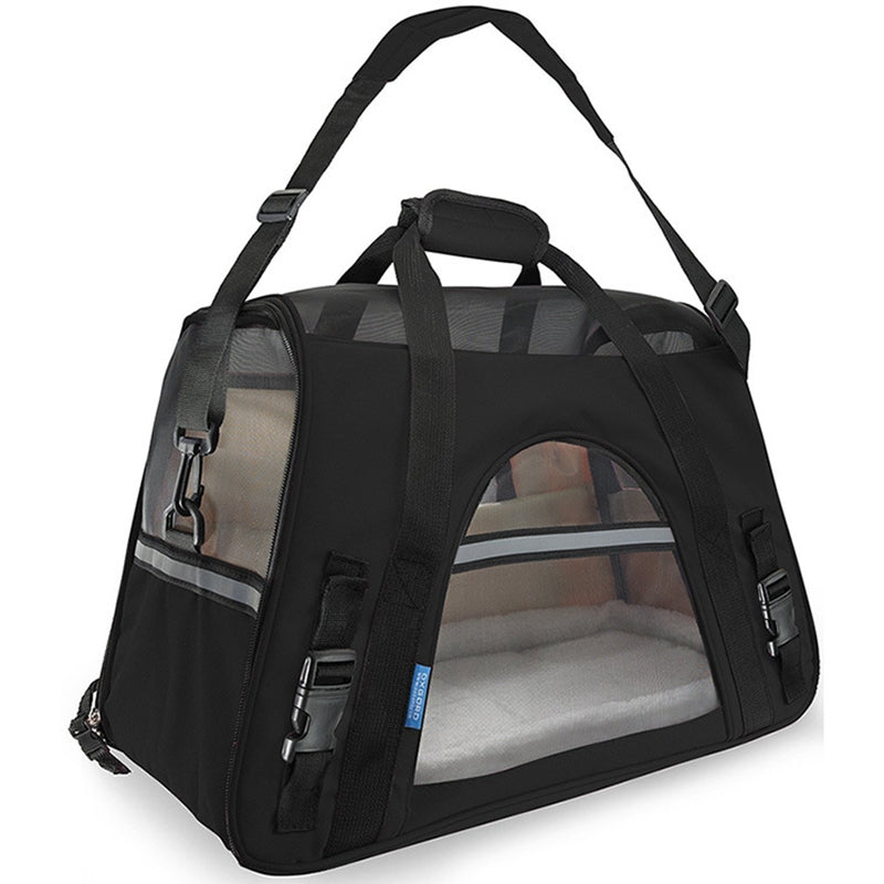 Breathable Pet Dog Carrier Fashion Pet Cat Bag Portable Small Cat Carriers Dog Outdoor Travel Bag Side Carry Bags Pets Handbag