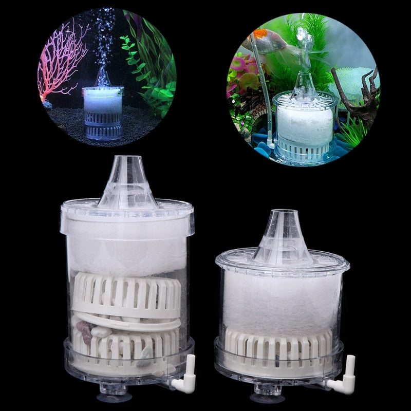 Fish Aquatic Pet Biochemical Sponge Fish Tank Water Activated Carbon Submersible Aquarium Filters Accessories