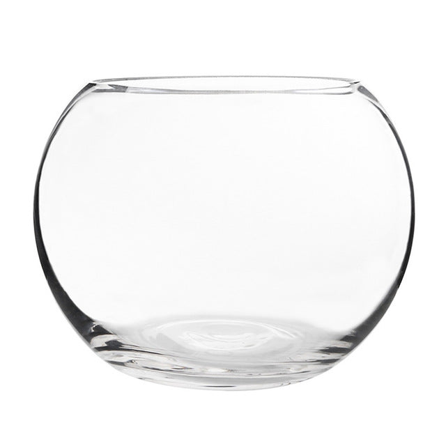 PETFORU Spherical Glass Fish Tank Round Aquarium Fishbowl for Betta fish Home Decoration Pet Supplies Pet Products Fishes living