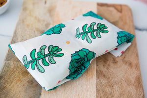 Vegan/Bees wax Food Wraps Succulents pack