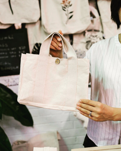 Lunch canvas cotton tote