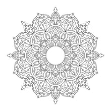 Load image into Gallery viewer, Downloadable SVG File - Boho Mandala