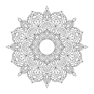 Downloadable SVG File - Boho Mandala