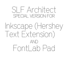 Load image into Gallery viewer, SVG Font - SLF Architect