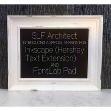 Load image into Gallery viewer, Inkscape Font - SLF Architect