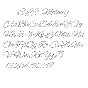 Single Line Font Melody - True Type Version