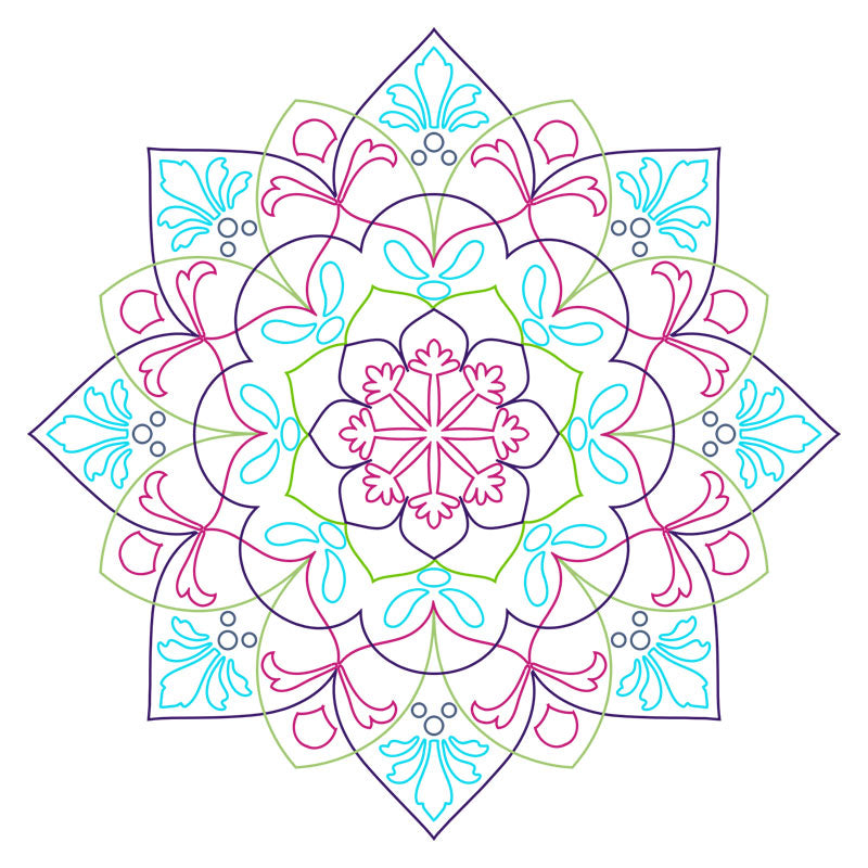Ornate Mandala SVG File