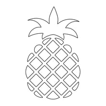 Load image into Gallery viewer, svg vector pineapple for embossing