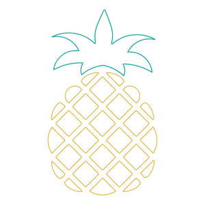 pineappls svg download for foil quilling