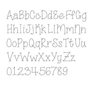 "Single Line Font ""Jelly Bean"" - TTF Version"