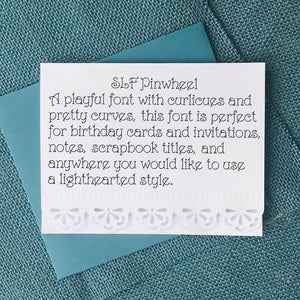 slf pinwheel sketch pen font single stroke fonts for cardmaking