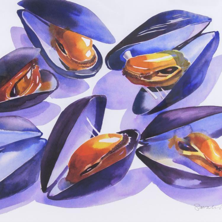 Mussels Limited Edition Signed Print
