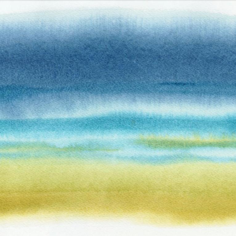 'Sea Mist' Signed Watercolour Print/Canvas