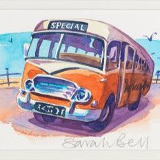 """School Bus"" By Sarah Bell"