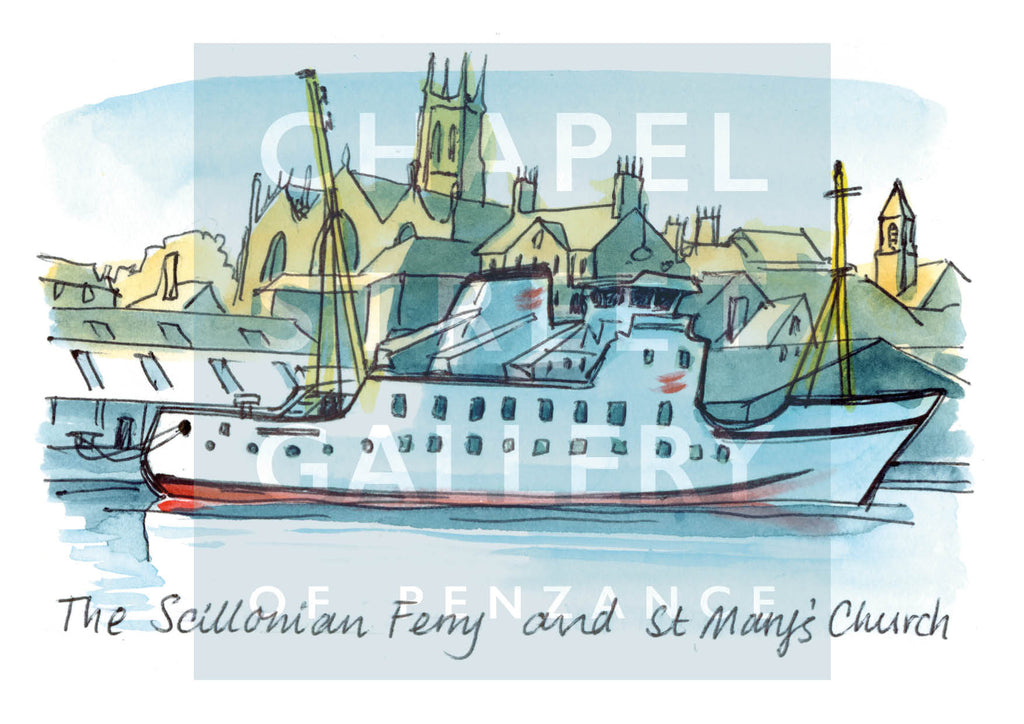 Scillonian and St Mary's PZ by Sarah Bell