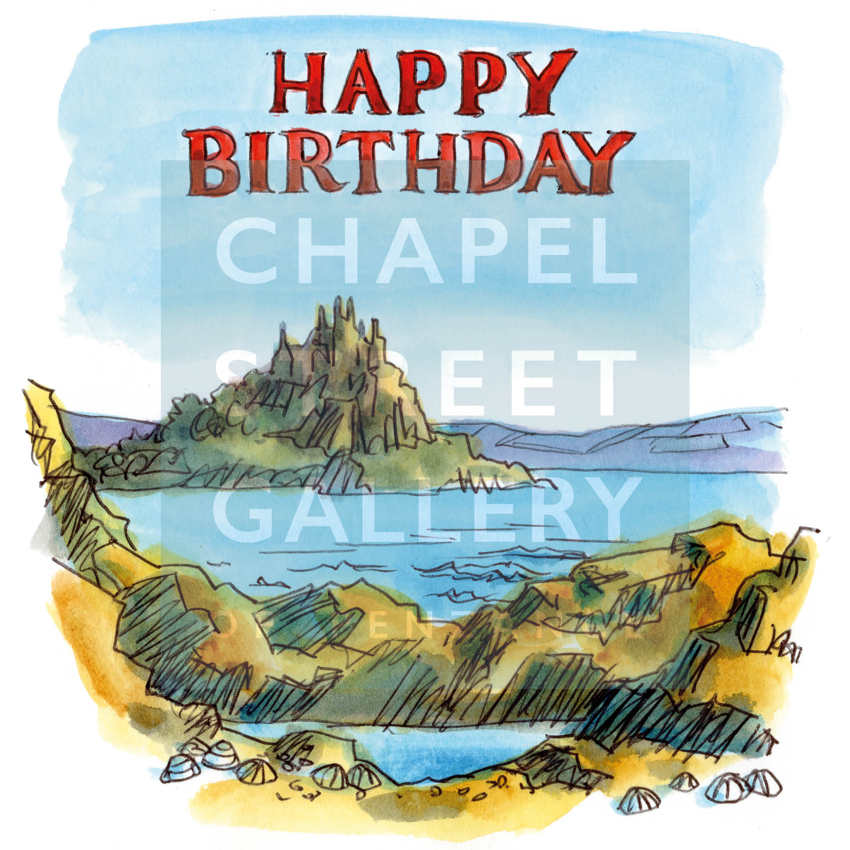 """Happy Birthday ""St Michael Mount"""