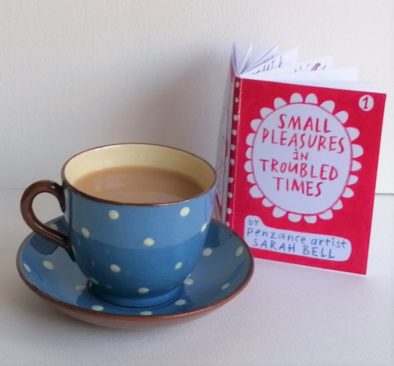 """Small Pleasures in Troubled Times"" Tiny Book"