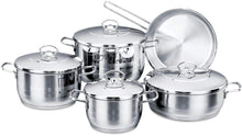 Charger l'image dans la galerie, Korkmaz Astra Cookware Set of 9 Pieces A1900