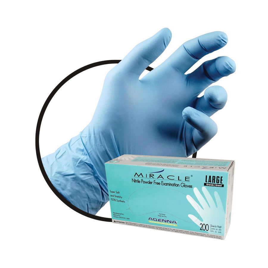 Adenna Miracle Nitrile Exam Gloves Box