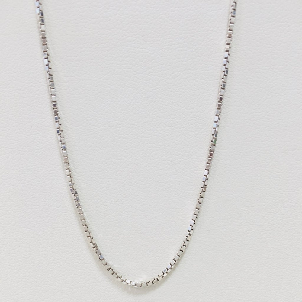 Box Chain - Sterling Silver