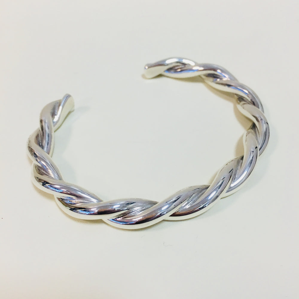 Twisted Cuff - Mexico Sterling Silver
